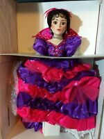"Madame Alexander Doll Carnival In Rio LARGE 21"" Limited Edition NEW!"