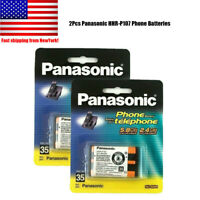 2Pack Panasonic HHR-P107 3.6V NIMH Rechargeable Batteries for KX-TG Series Phone