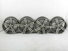 SET 4 CERCHI IN LEGA DA 17 POLLICI 5 FORI BMW 318D E91 2.0 90KW 5P D 6M (2006) R