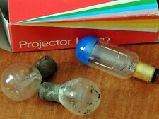 NOS PROJECTOR BULB SYLVANIA CBX-CDS IN BOX PLUS TWO VINTAGE LIGHT BULBS-DC