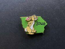State Character Pins Iowa Rabbit Winnie the Pooh Disney Pin 14937