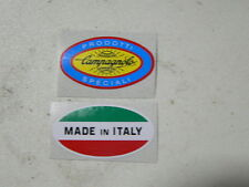 sticker adesivi per bici da corsa vintage CAMPAGNOLO PRODOTTI SPECIALI+ Italy