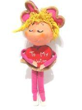 Vintage Gund Gunderful Creation Girl in Pink Pixie Elf Valentine Doll Toy Japan