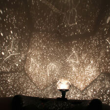 12 Romantic Constellation Projector Star Astro Sky Projection Cosmos Night Light