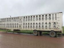 05 Barrett Livestock trailer. 53 Ft. Other Trailers