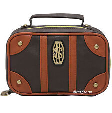 Harry Potter Fantastic Beasts Newt Scamander Suitcase Cosmetic Makeup Bag NEW