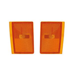 NEW LOWER SIDE MARKER LIGHT PAIR FITS CHEVROLET C1500 C2500 GM2550105 5975196