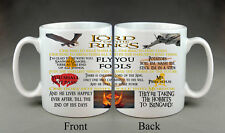Lord Of The Rings Mug Movie Quotes Film Birthday Gift Present House Home Friend