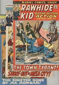 Rawhide Kid #103, #104 and #105