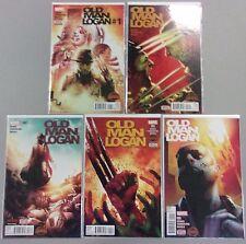 Secret Wars Old Man Logan Complete Mini Series #1 2 3 4 5 Run Lot Marvel Comics