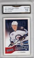 GMA 10 Gem Mint MARK SCHEIFELE 2011/12 UD Upper Deck VICTORY ROOKIE JETS!