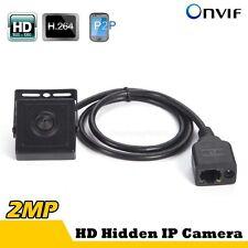 2MP HD1080P Hidden Pinhole Mini IP Camera P2P PC And Phone view ONVIF H.264 WIFI