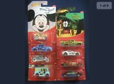 Hot Wheels MICKEY MOUSE Complete 8 Car Set!! NEW!! Steamboat Willie,Fantasia....