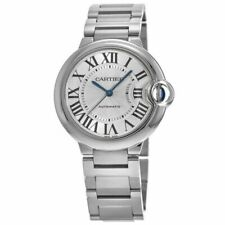 Cartier Ballon Bleu Silver Unisex Adult Watch - W6920046