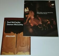 PAUL MCCARTHY SIGNED MIKE KELLEY AFTERMATH COLLABORATIVE WORKS ART BOOK PRINT