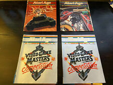 Atari Age Magazine 4 Issues Volume 2 - #2 #3 and #5 1983 1984