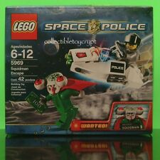 LEGO 5969 SPACE POLICE SQUIDMAN ESCAPE ALIEN NEW SEALED SET