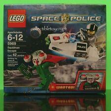 LEGO 5969 SPACE POLICE SQUIDMAN ESCAPE ALIEN NEW SEALED SET