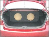 For a 2003 - 2012 Mazda 6 Mazda6 - Custom Sub Enclosure Subwoofer Speaker Box