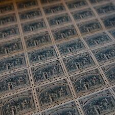 FEUILLE SHEET REVOLUCIÓN JURAMENTO DE LA JUEGO DE PALMA Nº444 x50 1939 LUXE MNH