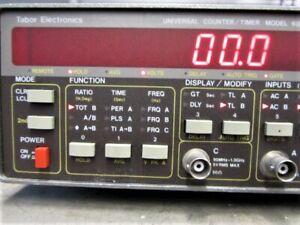 Tabor Universal Counter Timer Model 6020