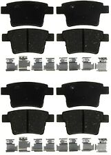 Front & Rear Ceramic Brake Pad Kit ACDelco for Ford Five Hundred Mercury Montego
