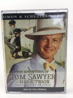 The Adventures Of Tom Sawyer Mark Twain, Paul Newman, Audio Cassette Tape