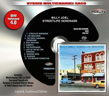 Billy Joel Streetlife Serenade Audio Fidelity Numbered Hybrid Multichannel SACD