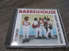 Barrelhouse - Straight From The Shoulder Live Concert * RARE CD HOLLAND BLUES *