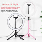 """10"""" Selfie Ring Light with Tripod Stand and Phone Holder for Live Streaming"""