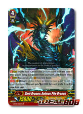 Cardfight Vanguard  x 4 Dark Dragon, Animus Pile Dragon - G-BT10/025EN - R Pack