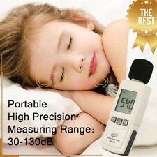 Handheld Digital Sound Level Meter Decibel Noise Tester Measurement 30-130dB