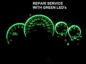 03-07 GM Chevrolet Silverado Sierra Instrument Gauge Cluster FULL REPAIR SERVICE