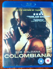 Colombiana (Blu-ray, 2012) written by Luc Besson Starring Zoe Saldana