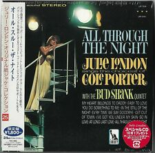 Julie London W/ The Bud Shank Quintet ‎– All Through The Night JAPAN MINI LP CD