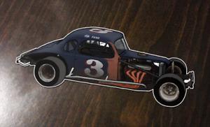 Fred Desarro - #3 Boehler Modified - Custom Art sticker