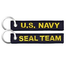 SEAL TEAM  US NAVY   5.5 x 1.0 inches  embroidered Key Chain