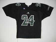 Authentic HAWAII RAINBOW WARRIORS Black #24 FOOTBALL JERSEY Team Shirt Size XL