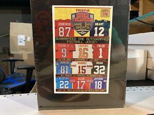 2021 Tri - Star Hidden Treasures autographed Football jersey 10 Spot Box break