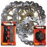 Honda F+R Brake Rotor+Pads CBR 900 RR/RRR Fireblade[1994-1997] VTR 1000 F[98-05]
