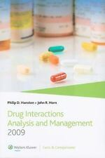 Drug Interactions Analysis and Management 2009