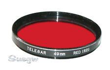 49mm Telesar Red R2 Lens Filter