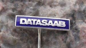 Rare Datasaab Pioneering Historic Computer Mainframe Computing Company Pin Badge