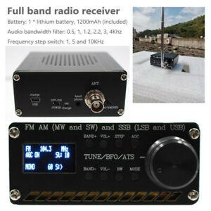 SI4732 All Band Radio Receiver FM AM (MW&SW) SSB (LSB&USB) Built-in Battery+ANT