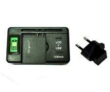 universel LED USB chargeur de batterie pour Samsung Galaxy S2 i9100 S3 i9300 S4