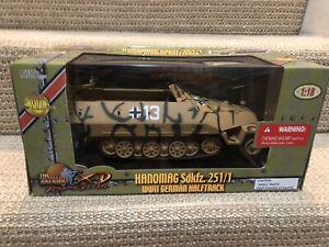 Ultimate Soldier 1:18 German Hanomag SdKfz. 251/1 Halftrack, No. 10133