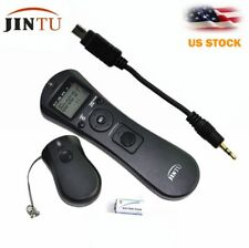 Jintu Wireless Timer Remote Control for Nikon D7500 D7200 D7100 D3300 D3100 D90