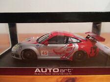 (GO) 1:18 Autoart Porsche 911 (996) gt3 rsr ALMS gt2 2006 nouveau neuf dans sa boîte