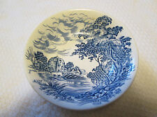 "5"" Bowl  Dish ""Countryside"" Enoch Wedgewood Tunstall  Blue"