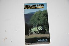 VHS VIDEO TAPE TITLED: MULLAN PASS  SHOWS SLIGHT USE